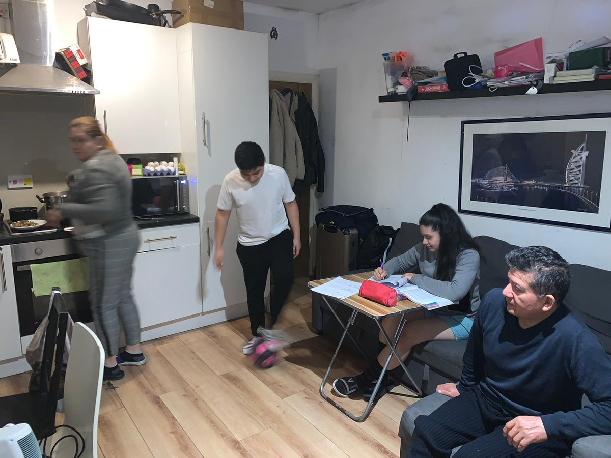 Living, sleeping, studying, playing, cooking in the same tiny room. Life was unbearable for overcrowded families before the lockdown. Southwark council were due to make a decision on this familys case 2 wks ago. Overcrowded families must not be ignored! …tionsouthwarkandlambeth.wordpress.com/2020/03/18/our…
