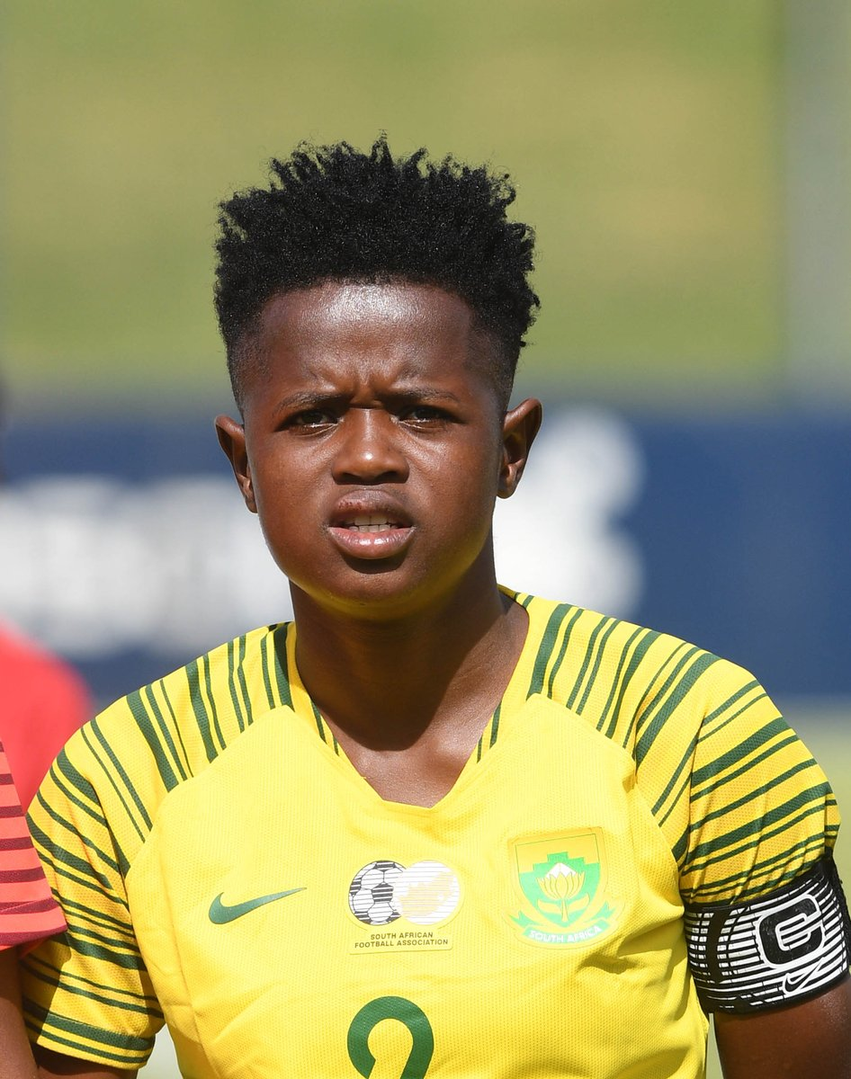 The correct answer is @LRamalepe2  who captained @Banyana_Banyana for the first time against Lesotho earlier in the month.<br>http://pic.twitter.com/FO1F2QQgmv