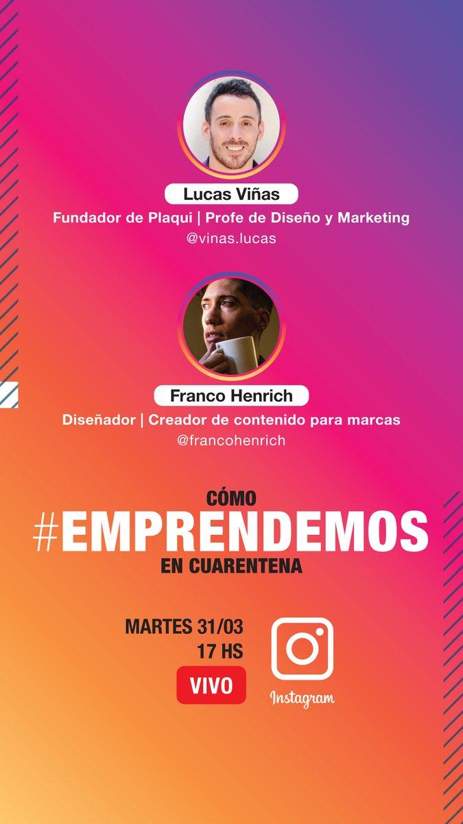 Cómo manejar tu emprendimiento HOY - 17hs en vivo por  con Lucas Viñas  Hablaremos de temáticas sobre cómo emprender. Él se especializa en dar capacitaciones de #Marketing para #emprendimientos de #pastelería.  #NegociosOnline #TiendaNube #Wix #Wordpress