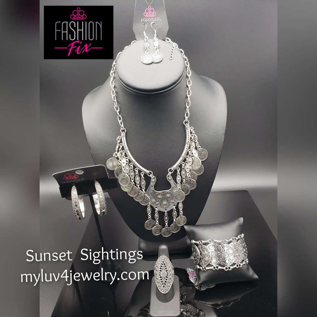 💎You won't believe this! Sunset Sightings Complete Trend Blend Paparazzi Accessories September 2019... is only $20.00💎   ⏩    #jewelryfashion #jewelrytrends #5dollarbling