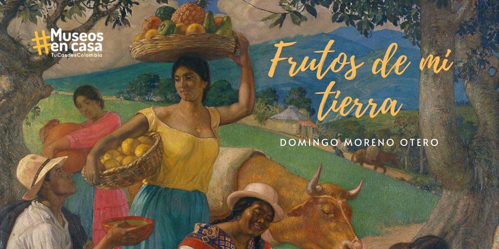 #MartesDeDetalles | Esta pintura es un homenaje a la diversidad de los productos agrícolas del campo colombiano.👇 https://t.co/mFzA7kAYlp