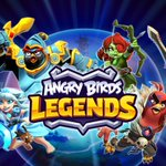 Image for the Tweet beginning: Rovio soft-launches Angry Birds Legends