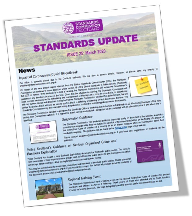 Image for Our latest Standards Update is now online and can be found here: https://t.co/ceJgbj0P7W https://t.co/4K1FaJElgg