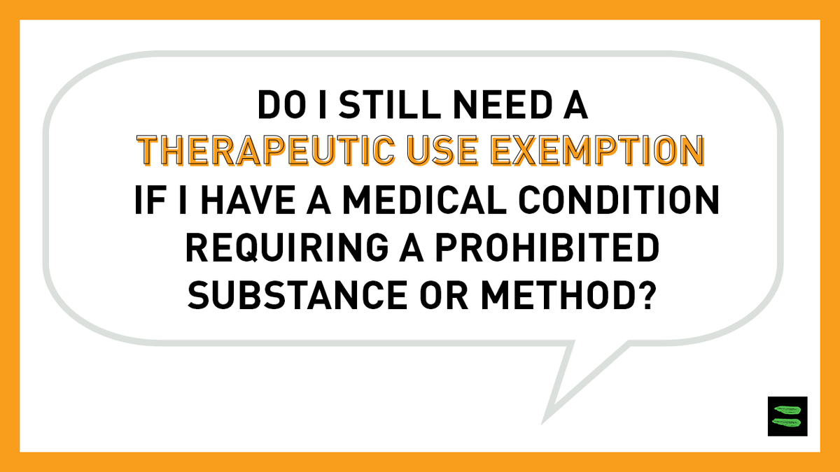 Do I still need a TUE? With the help of our Athlete Committee, we have developed a Q&A document that covers some of the most frequently asked questions during this ongoing COVID-19 #pandemic. Read the Q&A document here ➡️ bit.ly/33Lb5eJ