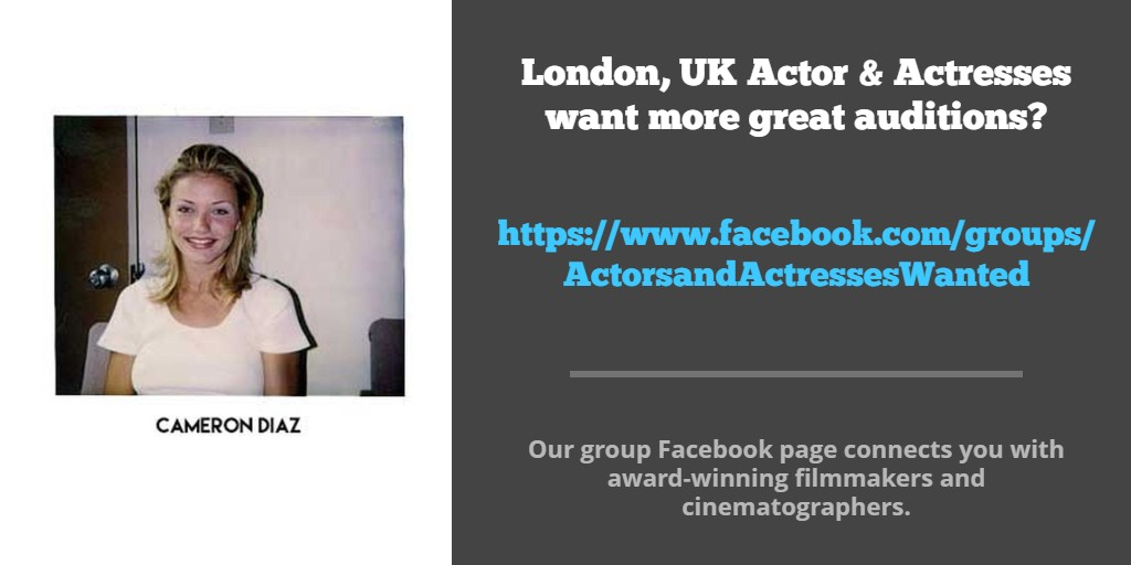 #Actor & #Actress want more great auditions? Work with the best #IndieFilmmakers .Our group FB page connects you with award-winning #Filmmakers #Showreels #Showreelshareday #NYCActor #acting #Audition #ActressLife #Actors #actorreel #actorlife #actorreel #actors #LAactor #NYCpic.twitter.com/3GDL5TKetv