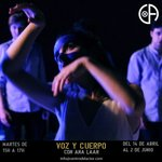 Image for the Tweet beginning: Módulo III VOZ&CUERPO: POTENCIA con