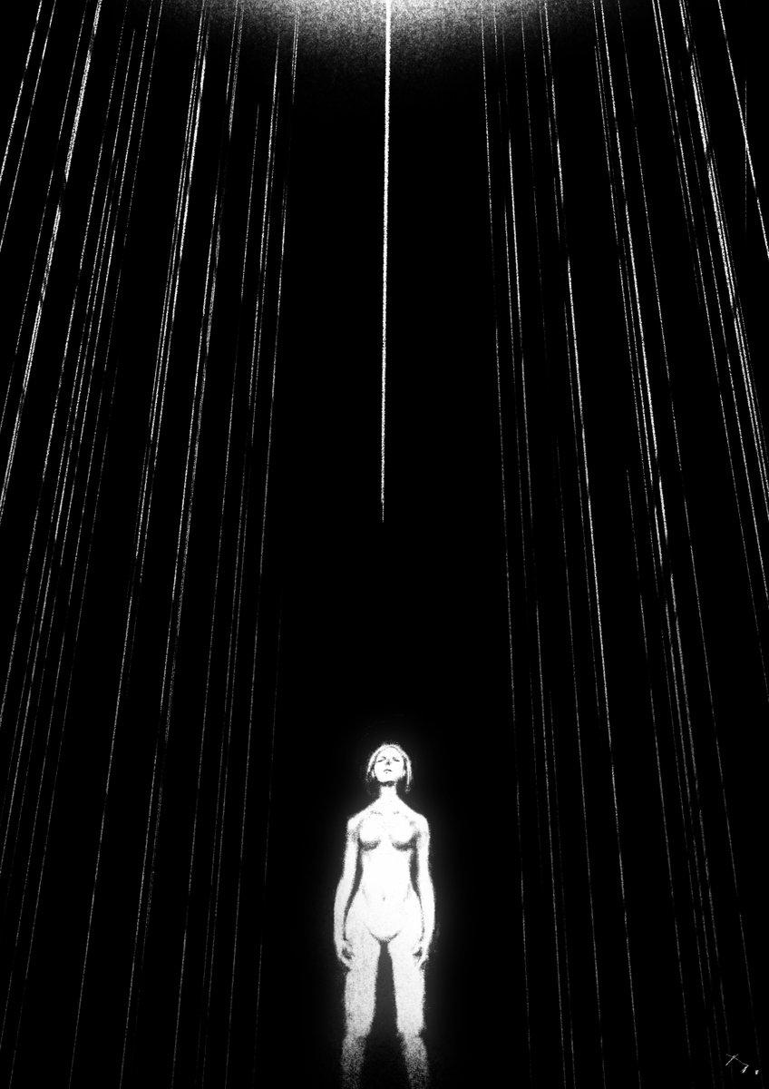 #illustration  #1日1絵 #イラスト 5-dimensional interstices pic.twitter.com/mhlsDz1Iub
