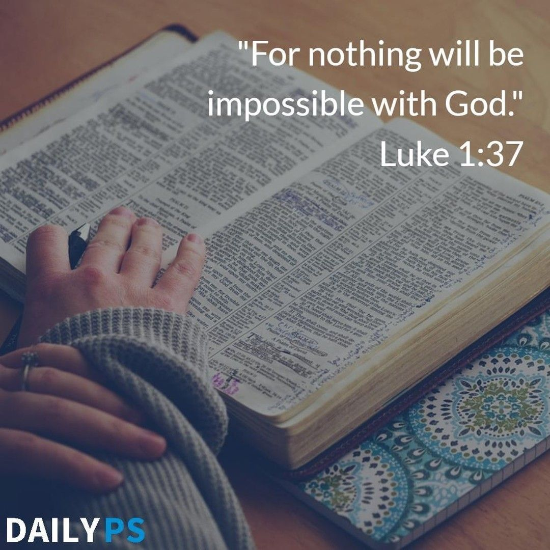 """For nothing will be impossible with God."" Luke 1:37 . . #DailyPS #DailyPositivity #PositiveVibes #WordsOfWisdom  #ParadigmShift #ChristianBlog #BlogLife #GodFirst #GodFirstLife #DailyShift #BloggersWorld #AllThingsArePossiblepic.twitter.com/Y1X5FxEg2G"