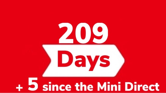 It has been 209 days since the last main #NintendoDirect  (September 4th, 2019), and 5 since the last #MiniDirect (March 26th, 2020).pic.twitter.com/03G965nJTx