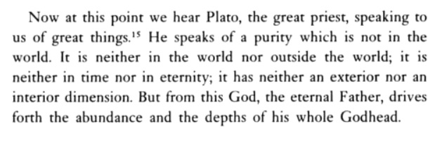 Meister Eckhart - Plato the great priest <br>http://pic.twitter.com/uq2UuKcj7o