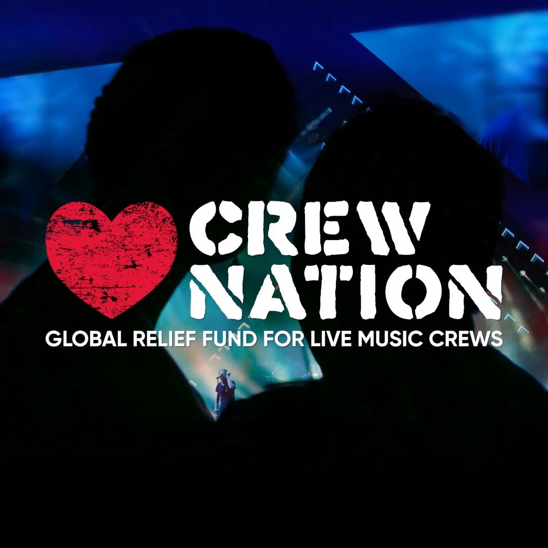 Live shows are not possible without our crew members behind the scenes. We are helping those workers who need it the most by announcing the #CrewNation  Fund. We are donating $10 million: $5M upfront + matching the next $5M. Visit  http://livenation.com/crewnation   to donate or buy merch now