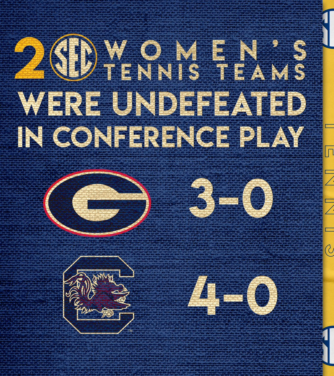When the #SECTennis season ended...