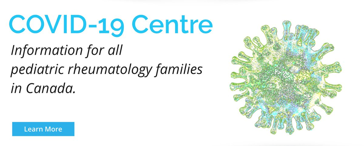 Our COVID site for youth and families living with Juvenile Arthritis + other rheumatic diseases is now LIVE. Read our letter to patients and caregivers from Canada's Pediatric Rheumatology experts - https://mailchi.mp/cassieandfriends/covid19centreislive… #JIA #Autoinflammatory #JuvenileArthritis #COVIDCanadapic.twitter.com/k0PnVYGLH1