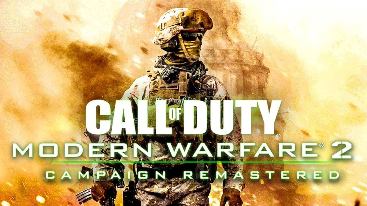 """Lucky Salamander @🏠 on Twitter: """"O COD: MW2 Remastered é real e ..."""