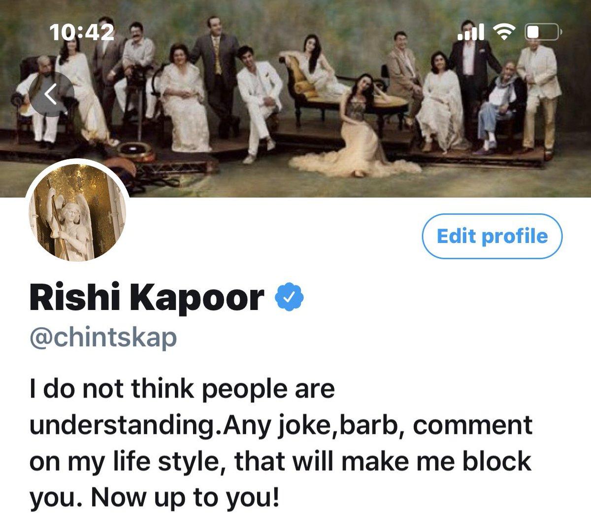 Rishi Kapoor (@chintskap) on Twitter photo 31/03/2020 17:13:45