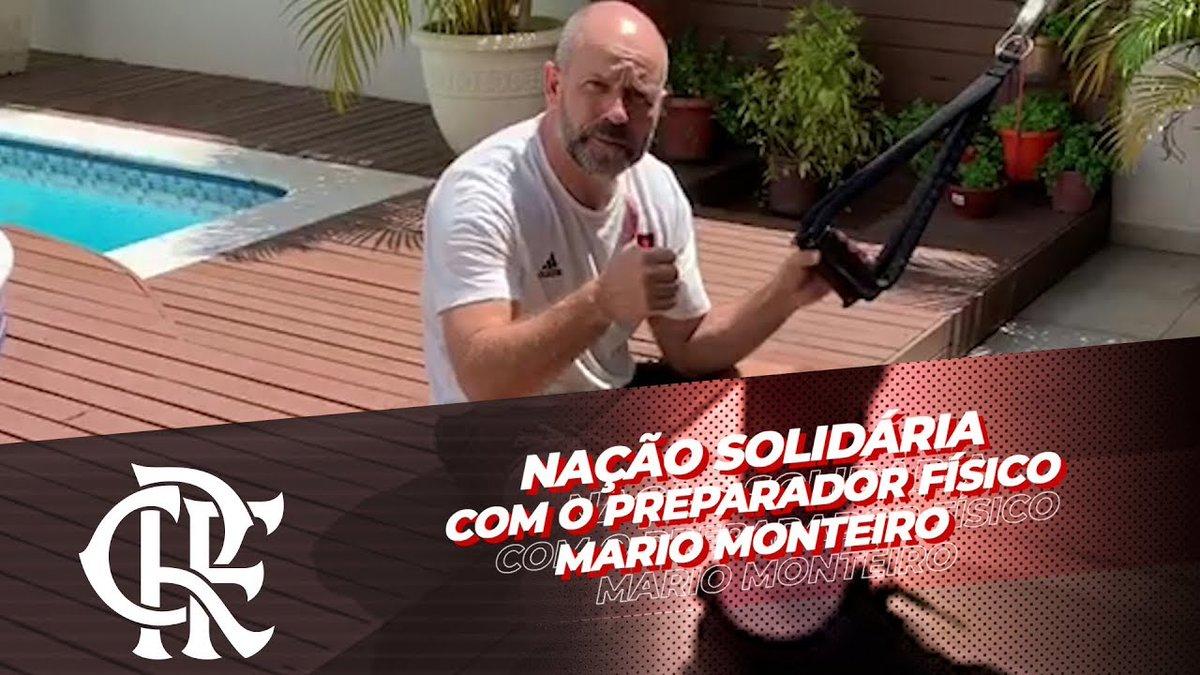 No período de quarentena é importante não ficar parado dentro de casa! O preparador físico Mario Monteiro tem dicas de como se exercitar neste período! Confira na #FlaTV! https://youtu.be/B7xeEqXWWBg. #CRF