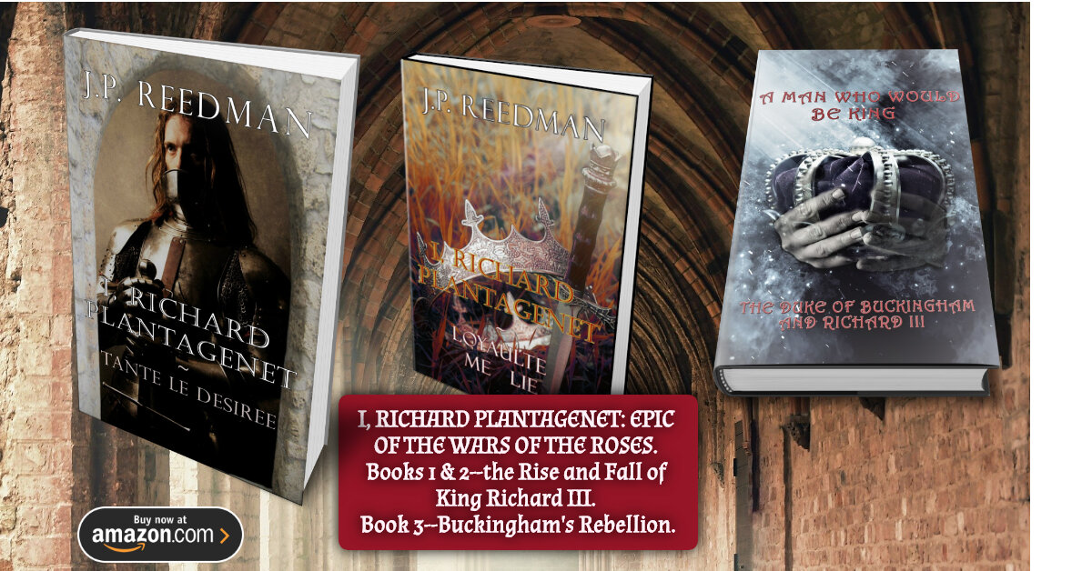 http:// mybook.to/Richardseries     I RICHARD PLANTAGENET. 3 BOOK  SERIES SET DURING THE WARS OF THE ROSES. Richard III from his first person perspective-and his frenemy, the Duke of Buckingham! Thousands sold. Called a new 'Ricardian classic. Battles, betrayal & bawdiness! #KindleUnlimited<br>http://pic.twitter.com/29js0LbLqN