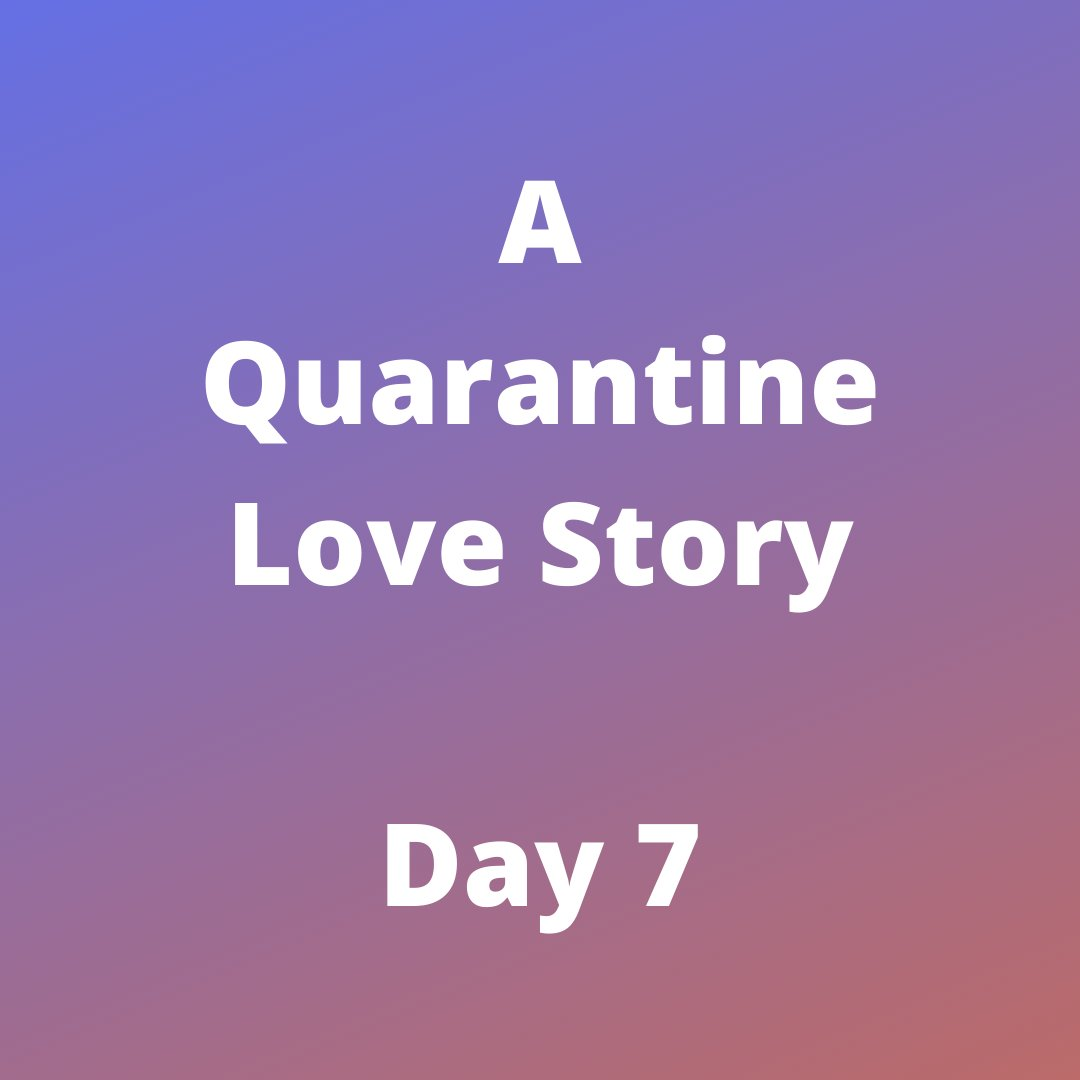 Read #FREE now. Day 7 has posted:  https://buff.ly/2JmeZBE  .⠀ #slscott #quarantinelovestory #quarantine #story #read #parody #marriageinquarantine #writer #author #readersofinstagram #readers #womensupportingwomen #writersofig #happyending #reading #bloggers #blog #socialmediapic.twitter.com/coFXt7ryJ7