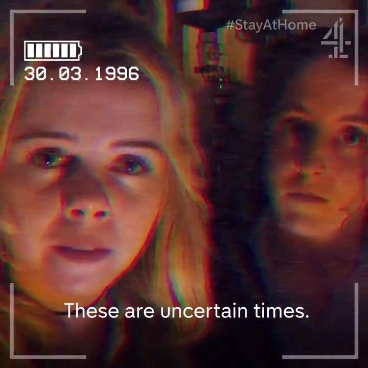 Isolating with the #DerryGirls @SaoirseJackson @louisa_harland