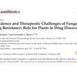New from #QuaveLab: Prevalence & Therapeutic Challenges of Fungal Drug Resistance: Role for Plants in Drug Discovery @MDPIOpenAccess @antibioticsmdpi  Read: https://t.co/UMbZedF9Tt  Congrats to #Emory @laneygradschool grad student Lewis Marquez on his 1st paper!  #antifungal #AMR