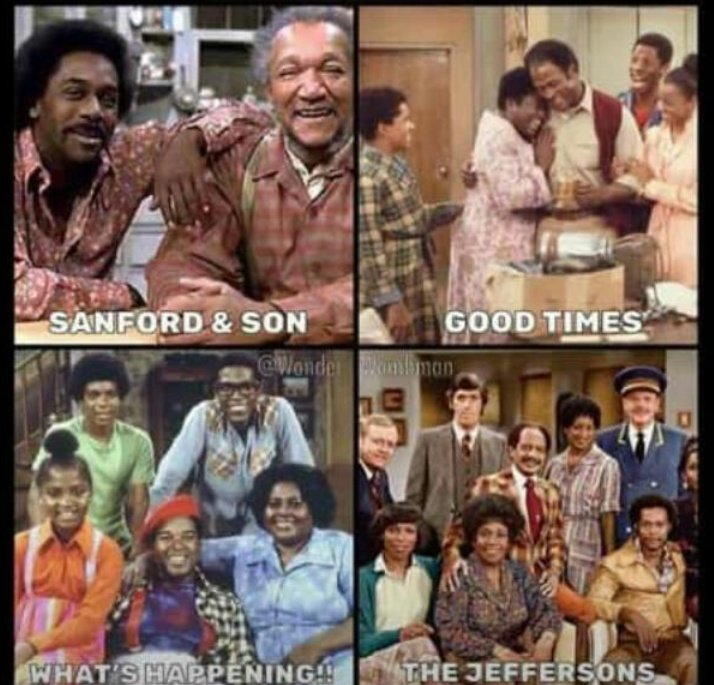 The Jeffersons and Sanford and son used to air on Sunday at KTN.Good times. <br>http://pic.twitter.com/5jyjLTZ53J