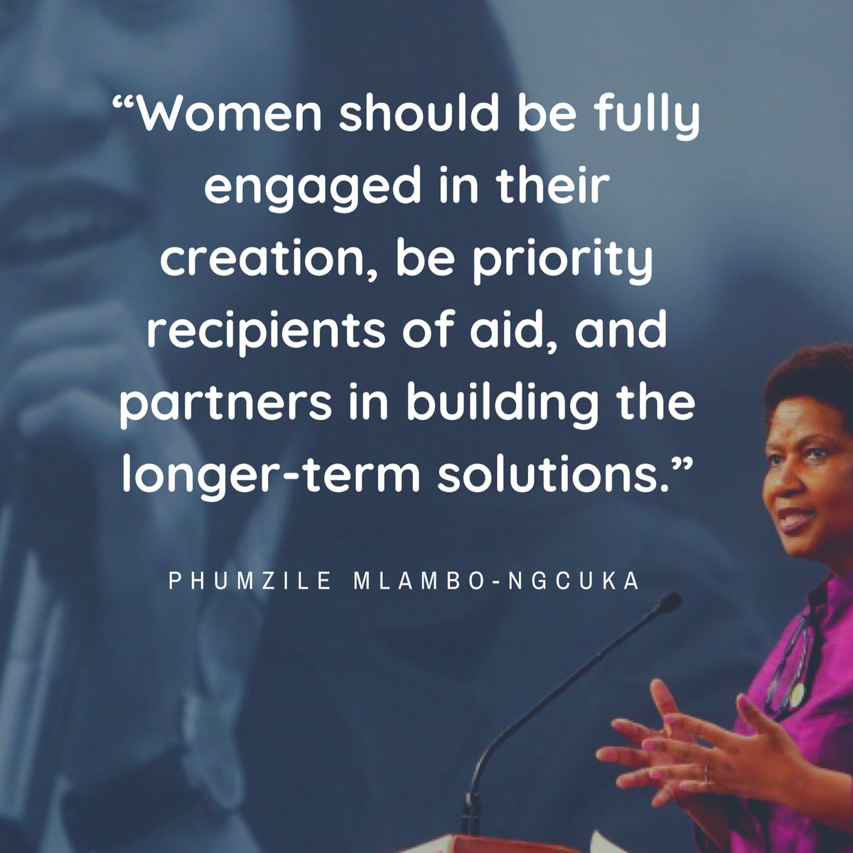 UN Women Executive Director @phumzileunwomen on fighting for women's rights & protection amidst Covid-19 pandemic #womenempowerment #strongwomen #leadership #inspiration #equalrights #healthcareworkers #strongertogether #politics #femalemodel pic.twitter.com/OFMNKhSXqG