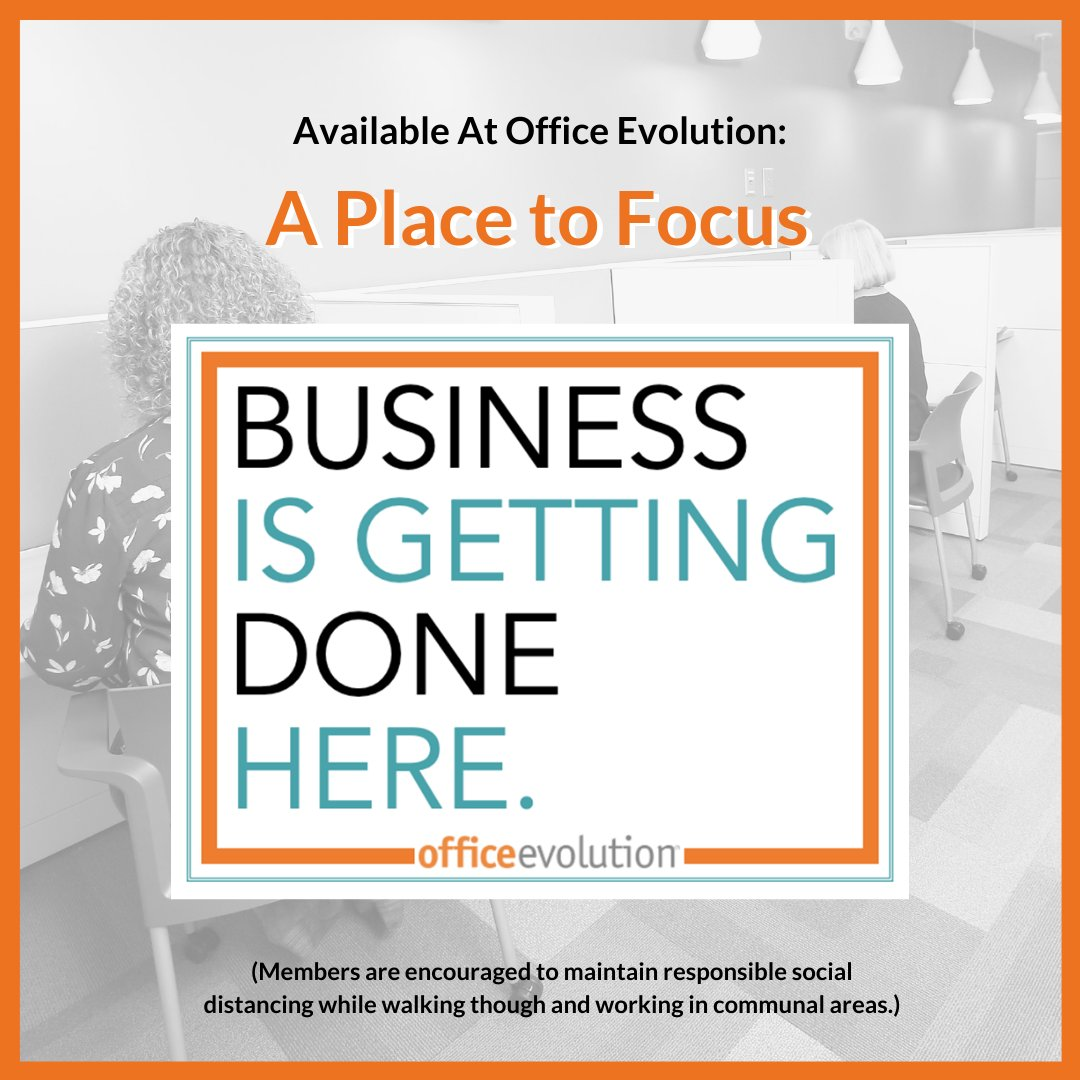 It may not be business as usual, but Business is Getting Done Here!   #OfficeEvolution #focus #flattenthecurve #socialdistancing #BusinessIsGettingDoneHere #OEPearlRiver<br>http://pic.twitter.com/m2gNGGBPKq