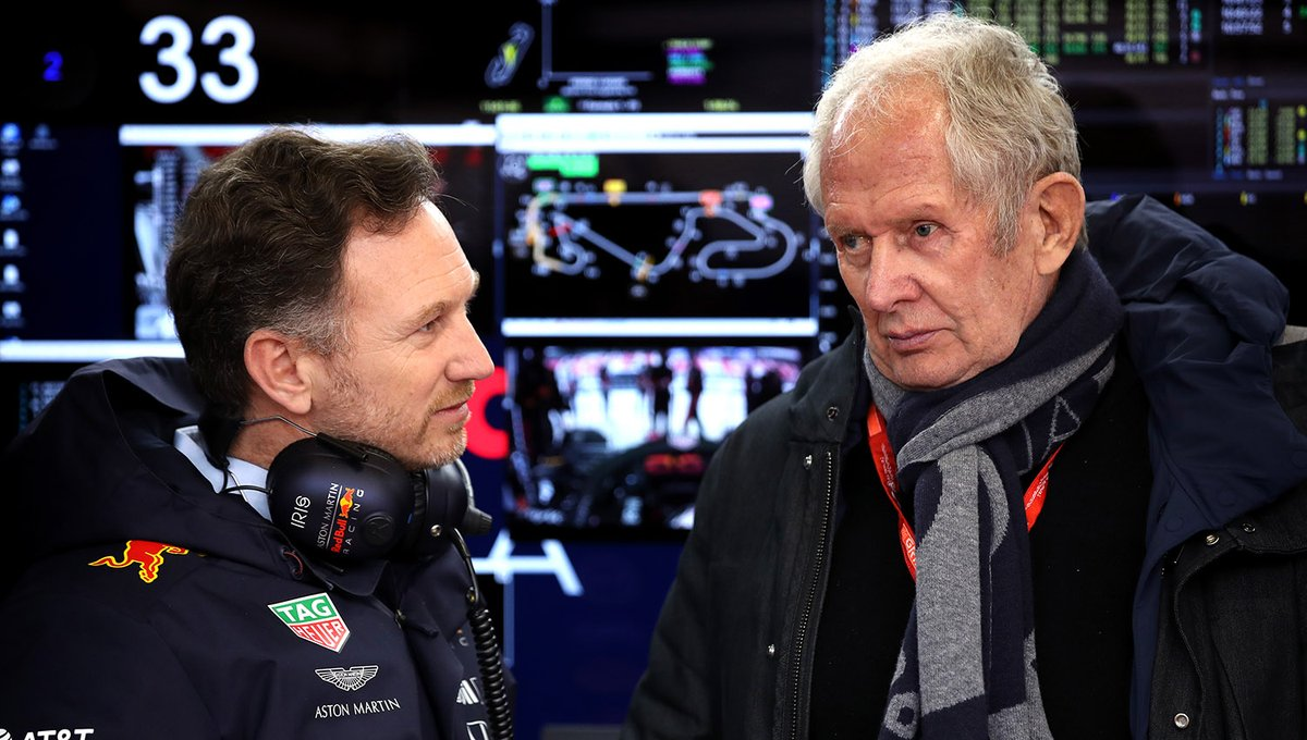 """Red Bull-teambaas Christian Horner reageert op bizarre uitspraken Helmut Marko: """"Hij zag toen de ernst van het coronavirus nog niet in"""" https://www.rtlnieuws.nl/sport/gp/artikel/5076486/horner-marko-zag-de-ernst-van-het-coronavirus-nog-niet… #RTLGP #F1"""