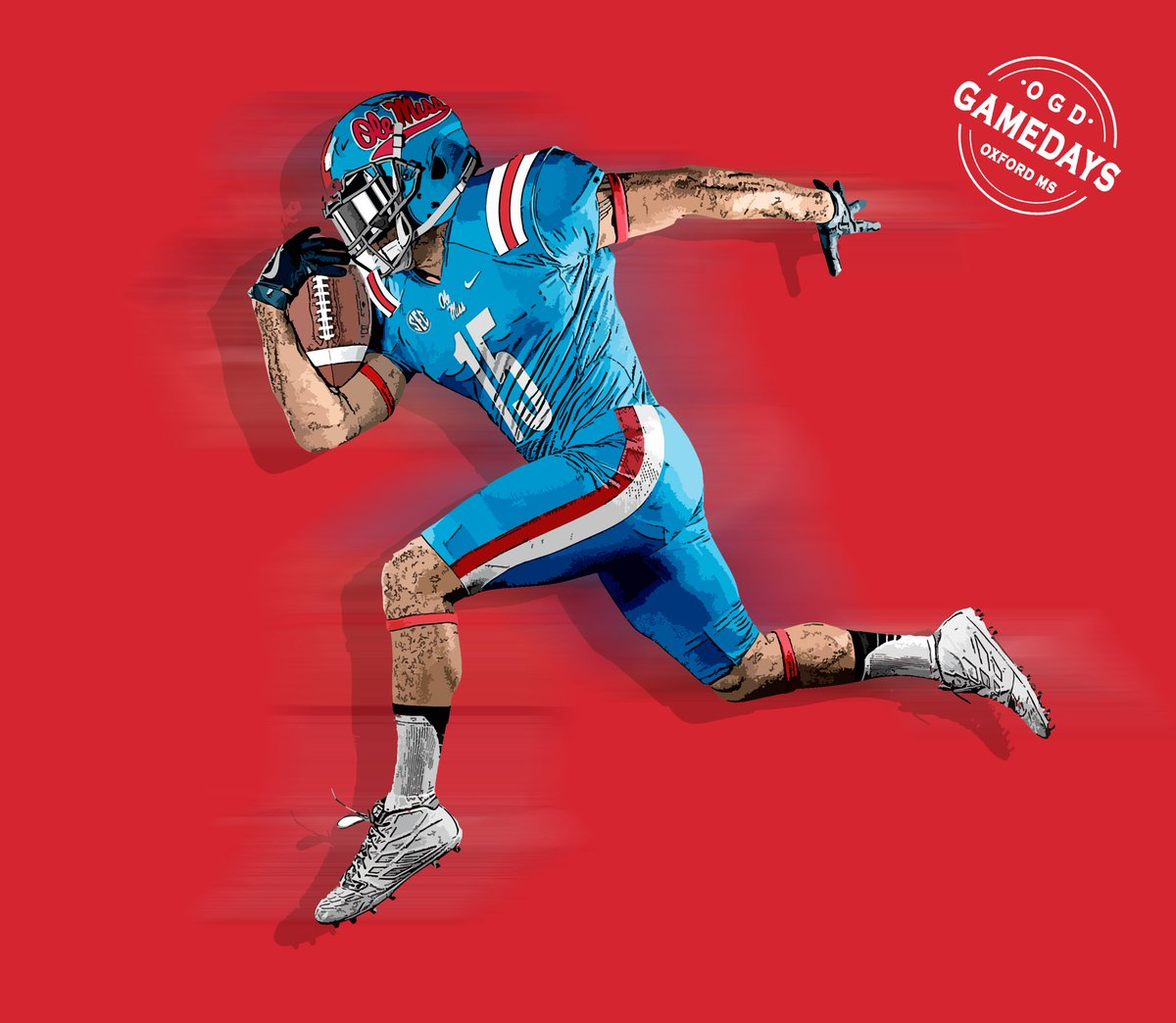 Ole Miss Gameday Headquarters On Twitter Baseball Themed Powder Blue Football Uni Hottytoddy Olemissfootball Hydr