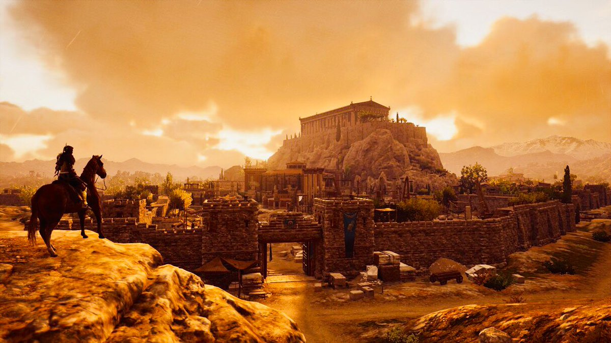 Welcome To Athens!  #ingamephotography #VirtualPhotography #AssassinsCreedOdyssey #Akropolispic.twitter.com/z3OuWRkndZ