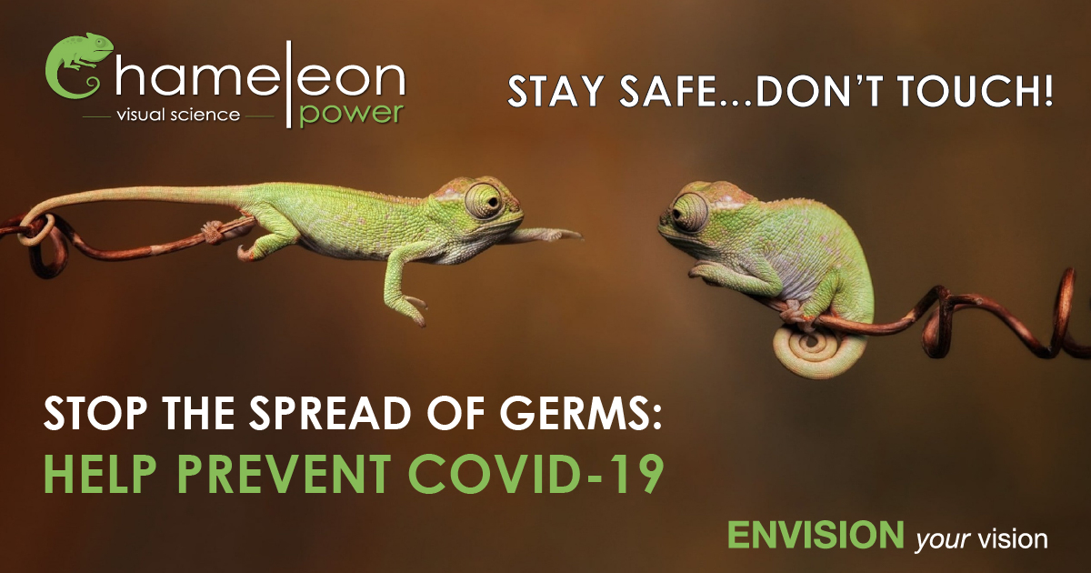 Stay Safe…Don't Touch - Stop the Spread of Germs.   #covid19 #coronusvirus #visualizer #visualization #chameleonpower https://t.co/JIurifsUcQ