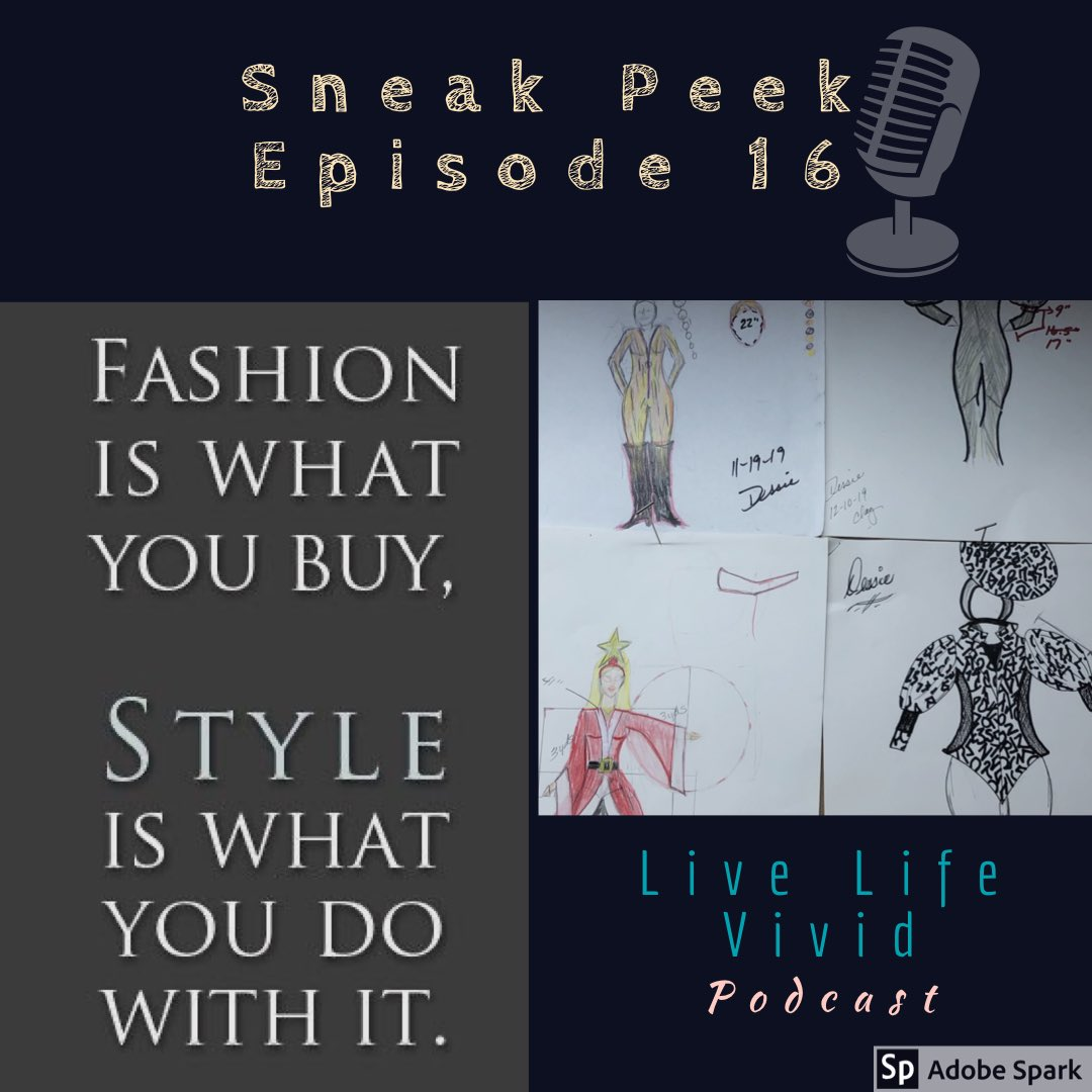 Episode 16 coming soon!  You won't want to miss it... it's going to be fabulous! Tune in and hear what it's all about!  #success #inspiration #liveyourpurpose  #glamour #fashion #costumedesigner  #drag #dragqueen  #beaqueen #peace #love #namaste @anchor @ApplePodcasts @Spotifypic.twitter.com/ReHYTDMaO7