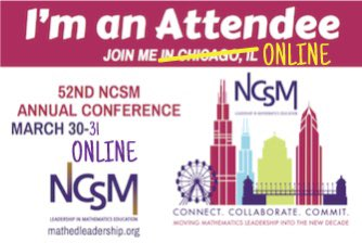 For everyone online for #NCSM20 , @MFAnnie made a new badge for the attendees. Feel free to share! Thank you!