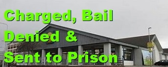 The male arrested yesterday for spitting at staff and an officer was Charged, Denied Bail to go before the next court   He was sent to jail for 16 weeks.   #Result pic.twitter.com/h5FiSe0CRT