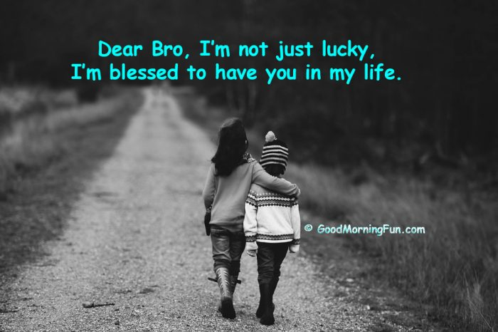 Good Morning Fun On Twitter Brothers Day Quotes Heart Touching Caption For Brother Https T Co Awfg4ifpov