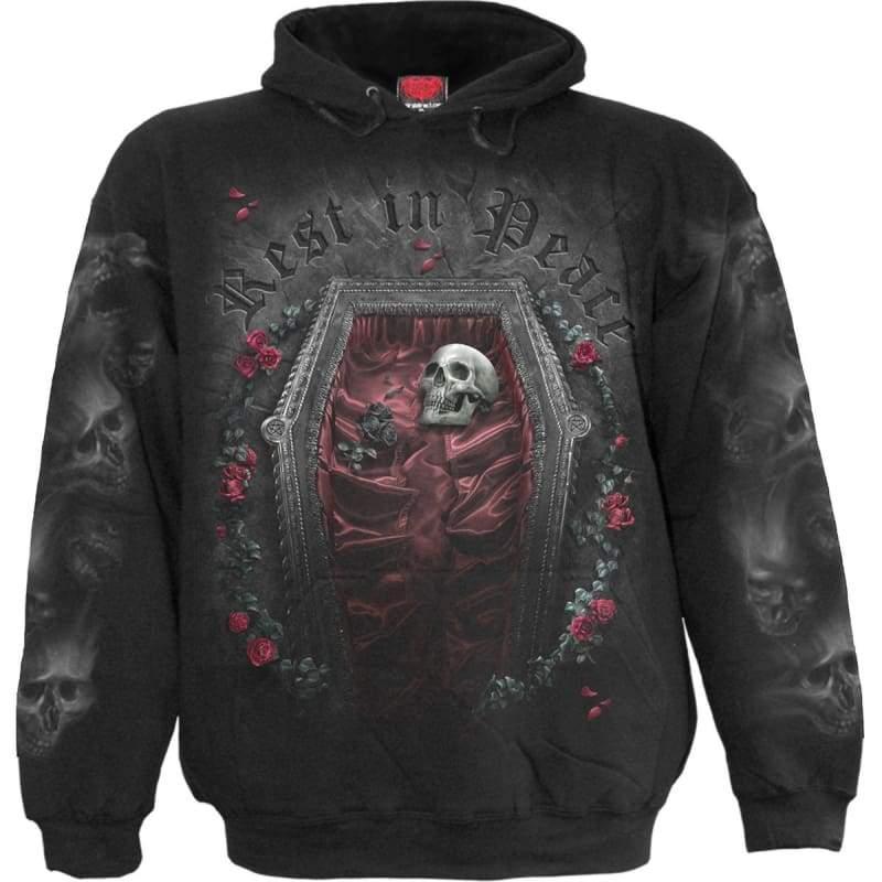 REST IN PEACE - Hoody Black  $  75.99.   https://pooo.st/ZmIAS  #jacket #coat pic.twitter.com/WaKObLybP3