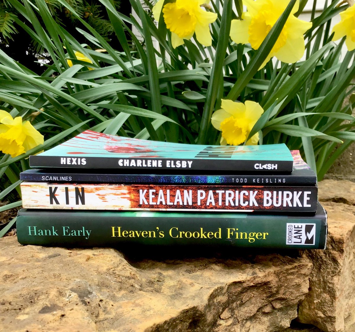 March wrap up! I ended up reading 6 books which is a departure from my norm, but isn't that the case with *gestures wildly*. Thanks to these authors for their words. KIN was a re-read and I can now highly recommend the book AND the audio.