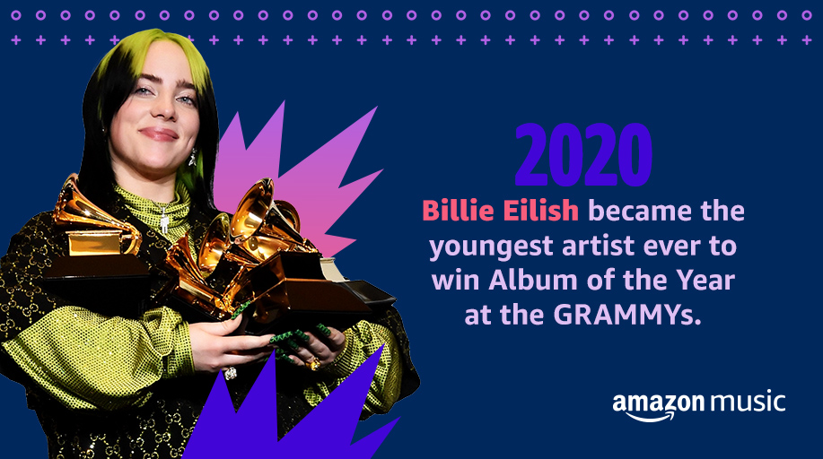 Singer ✔️  Songwriter ✔️  Entrepreneur ✔️  Award Winner ✔️   Keep the #WomensHistoryMonth celebration going with our Best of @billieeilish playlist now 🎧: https://t.co/ZPNWKCzQTL https://t.co/rcqJ3NG3A6