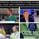 Image for the Tweet beginning: 15M para las televisiones por