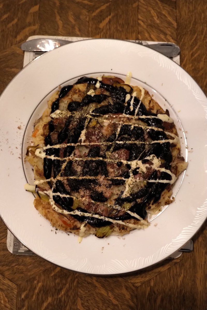 If your partner is from #Osaka, you might be lucky enough to have #okonomiyaki for supper tonight #Lockdowndinnerpic.twitter.com/rXyVqHx6Gh