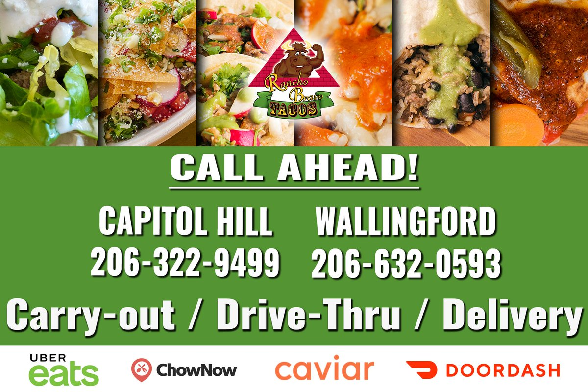 Stay home / stay safe / stay fed Call ahead to pick-up, use the drive-thru, or get some delivered. . #food #foodie #foodsta #hangry #hungry #tbt #seattlefoodie #seattlefood #eeeeats #foodietribe #eatseattle #mexicanfood #getinmybelly #dishedseattle #eaterseattle #wegotthisseattlepic.twitter.com/vjL7k3oIKY