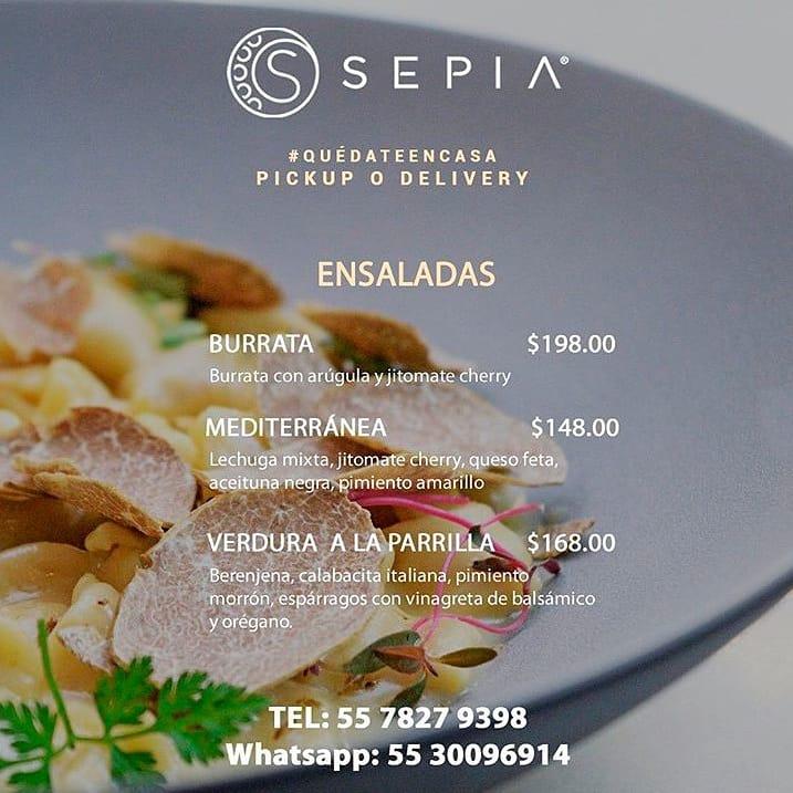 Para los amantes de la cocina italiana, @sepiacitaliana tiene servicio pick up & delivery. . También tienen servicio para cocinar en casa, pide tu pasta con un día de anticipación. . #AlChef #SoloLoMejor #sabiduriadelchef #foodlover #foodies #tasty #tastyfood #SepiaCucinaItaliana