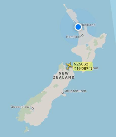 The team and myself need to stop checking flight radar! Domestic rush hour in NZ aviation for @FlyAirNZ, one flight - 6 passengers booked, zero turned up. The plane needed to go for repositioning purposes. Slimmer schedule due soon. @andykirton