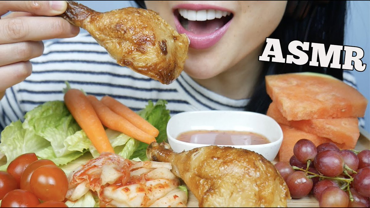 Asmrhd Com On Twitter Asmr Rotisserie Chicken Fresh Veggies Eating Sounds No Talking Sas Asmr Https T Co Ooe4nqpkmb Asmr most popular food at jollibee (spicy chickenjoy, yumburger, spaghetti, chicken sandwich). twitter