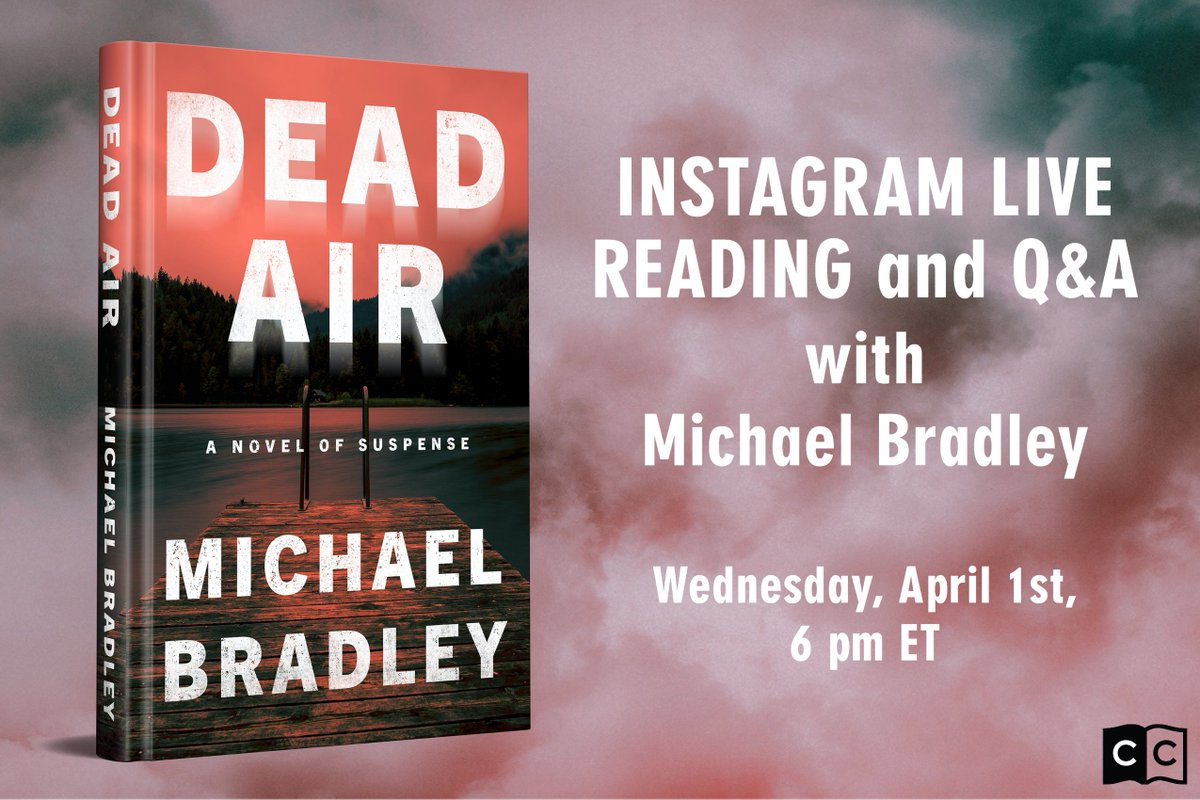 TOMORROW! Michael Bradley is going #live on our Instagram to read from Dead Air and answer questions! You don't wanna miss it! pic.twitter.com/YhMN8NvJfc