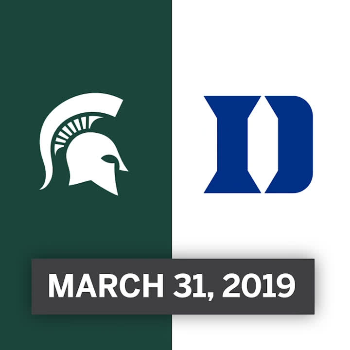 On this date last year...@K_G_1_2_ happened, and so did the Final Four. 😏 @MSU_Basketball | #GoGreen