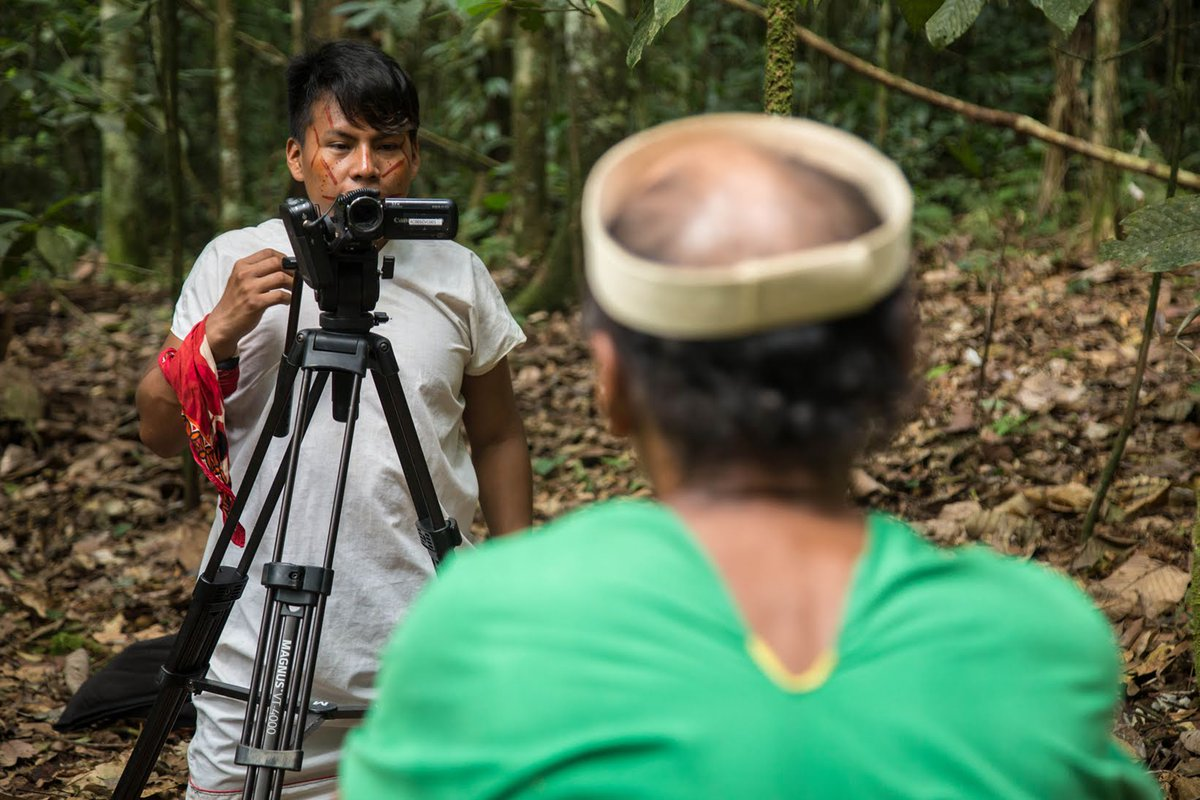 Indigenous Youth @NSiekopai filmmaker Jimmy Piaguaje from Ecuador's Amazon is working to preserve the teachings of his elders. In the face of a global health crisis putting indigenous elders at dire risk,Piaguaje's work is more important than ever Visit: bit.ly/2RQI1vg