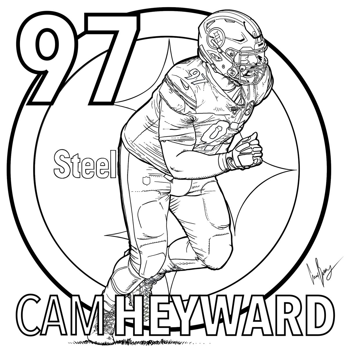 Pittsburgh Steelers On Twitter It S Nationalcrayonday Seems Like A Perfect Day To Give Steelersnation Some Coloring Pages 1 Print 2 Color 3 Tweet Us Your Completed Coloring Page Download Steelers Coloring