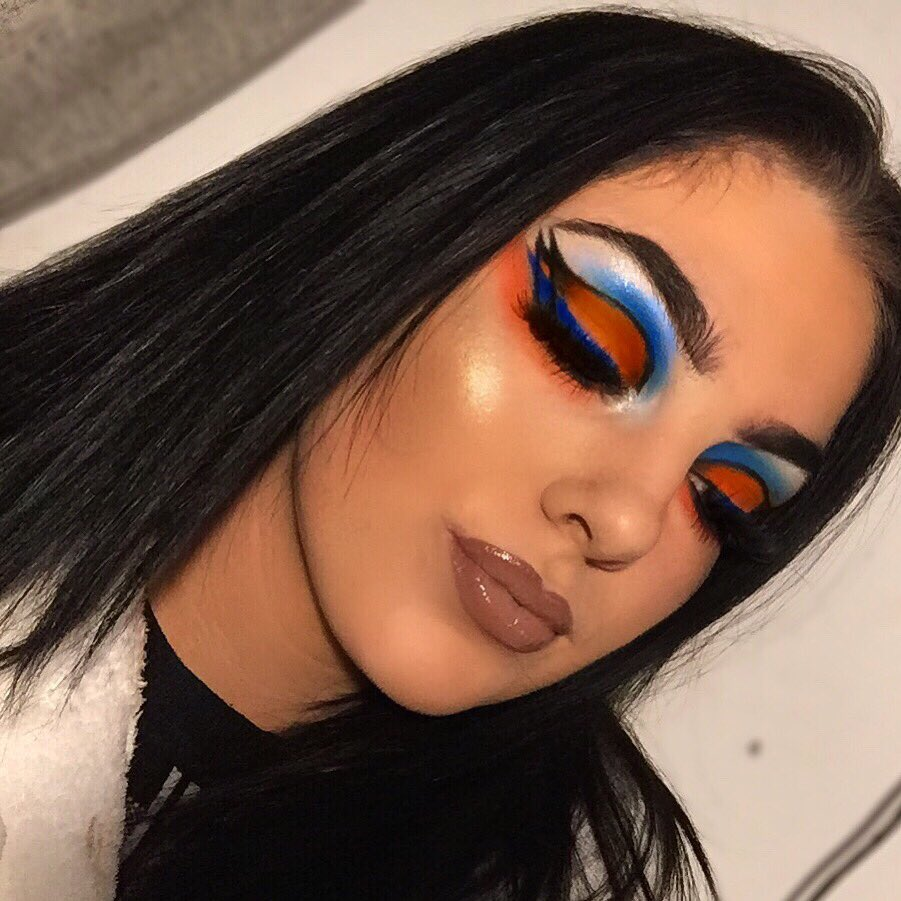 A bit of colour  Instagram is in my bio for product list! #mua #makeup #muafollowtrain #makeupartist #morphe #mualook #colourfuleyeshadow #eyelook #plouisepic.twitter.com/D59ALq04pB