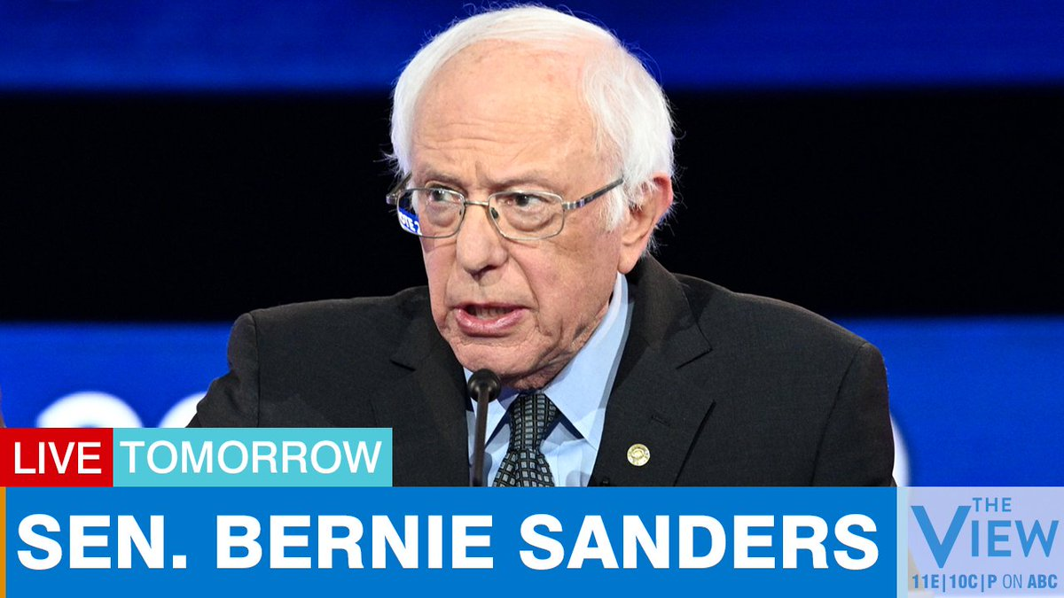 TOMORROW: Democratic presidential candidate Sen. @BernieSanders joins us from Vermont to discuss the latest on the coronavirus pandemic and more. <br>http://pic.twitter.com/OhlDMmk2m1
